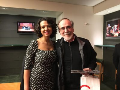 Khatia Buniatishvili and Ken Turner