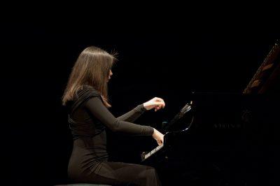 Virna Kljakovic performing at Lisinksi, Zagreb