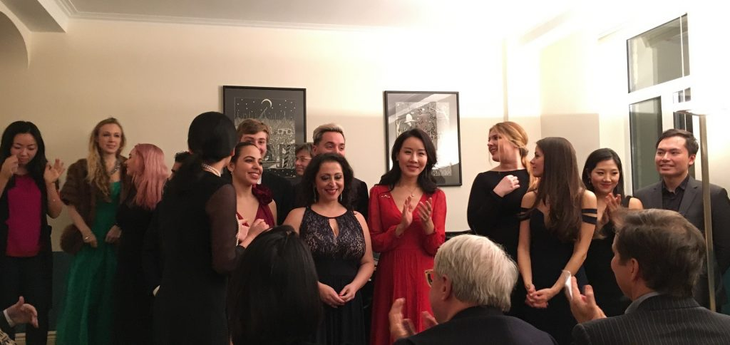 Opera Singers at Central Park West