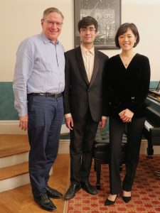 Robin Shoemaker, Gustavo Morales and Suejin Jung