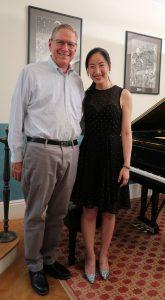 Robin Shoemaker with pianist Yan Shen